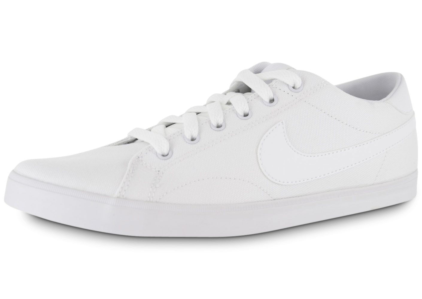 new concept dd211 dc7fc Nike Eastham Toile Blanche - Chaussures Baskets homme - Chausport