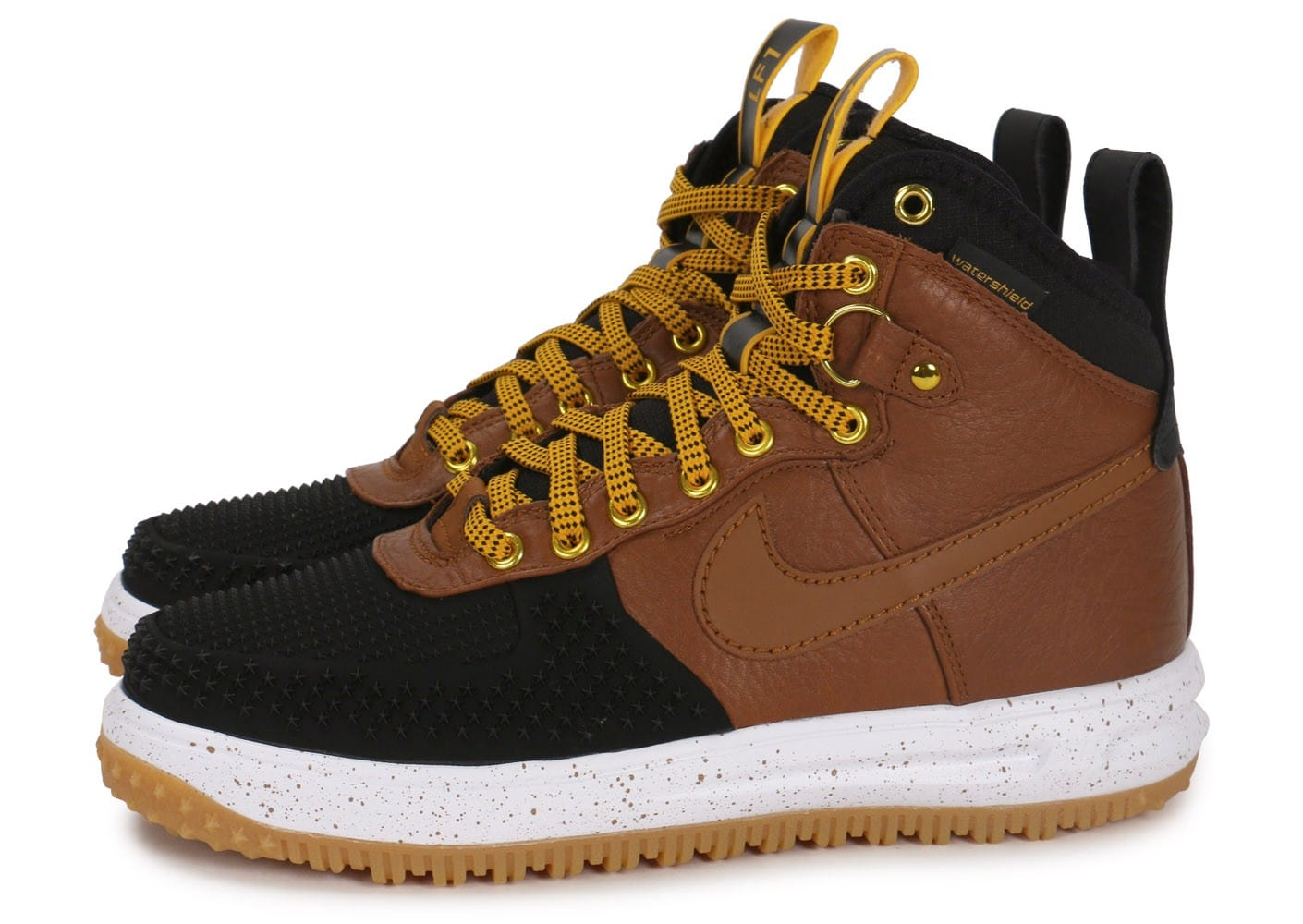Nike Lunar Force 1 Duckboot British Tan Chaussures Baskets