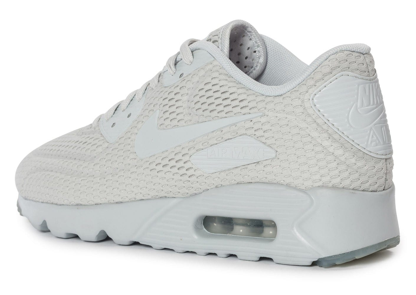 info for 6f525 e537a ... avant Chaussures Nike Air Max 90 Ultra BR Platinum vue arrière ...