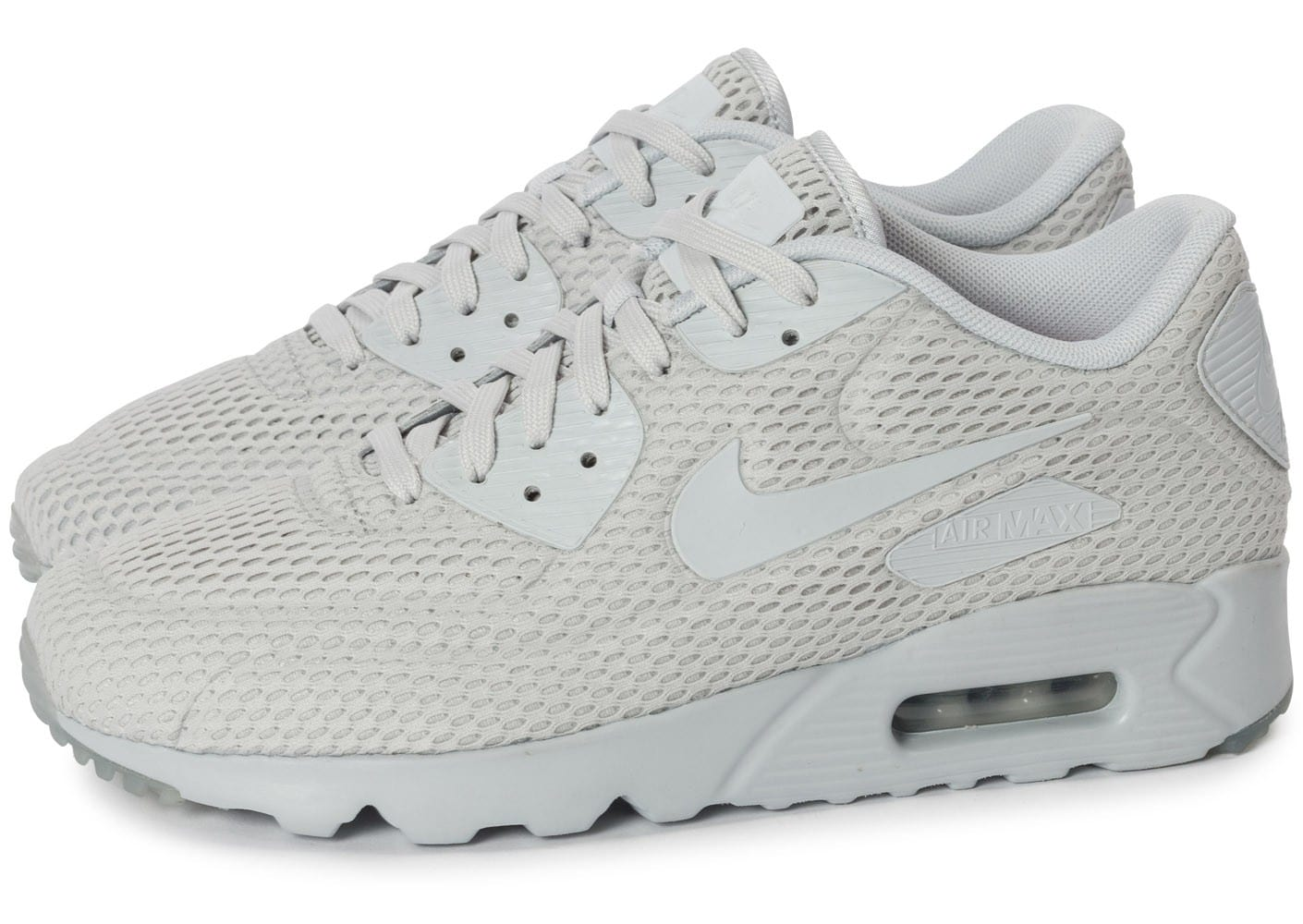 Nike Air Max 90 Ultra BR Platinum Chaussures Baskets homme