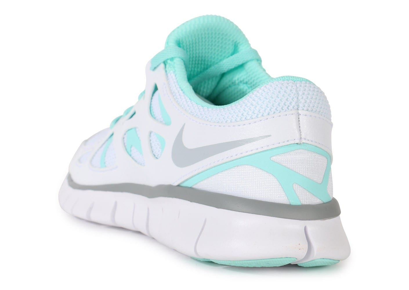... Chaussures Nike Free Run 2 Ext Blanche vue arrière ...