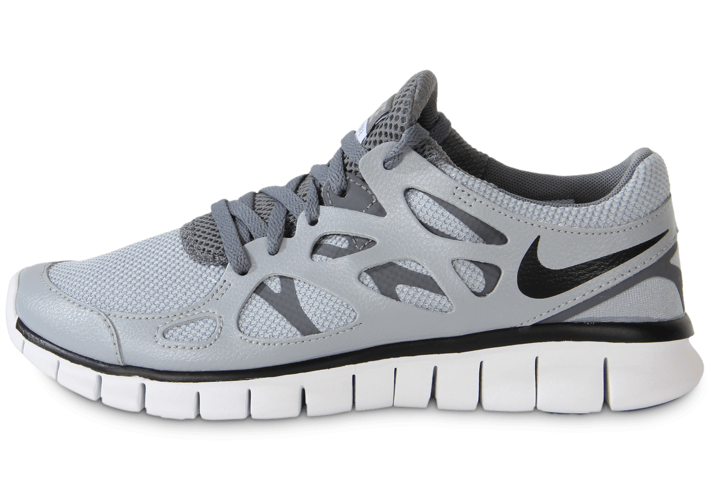 best sneakers 7d535 6d4f8 Nike Free Run 2 Ext Grise - Chaussures Chaussures - Chausport