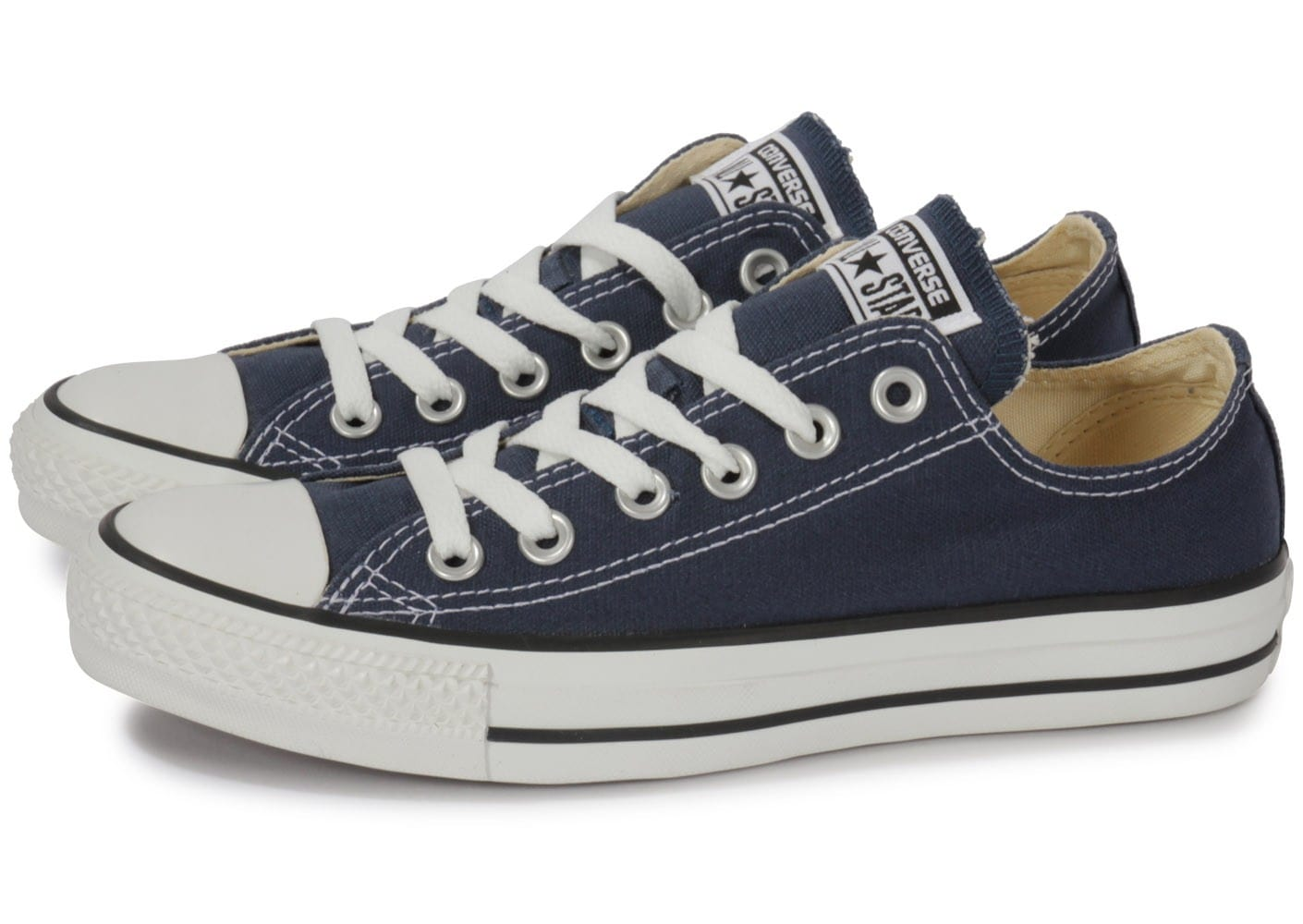Converse Chuck Taylor All Star low bleu marine - Chaussures ...