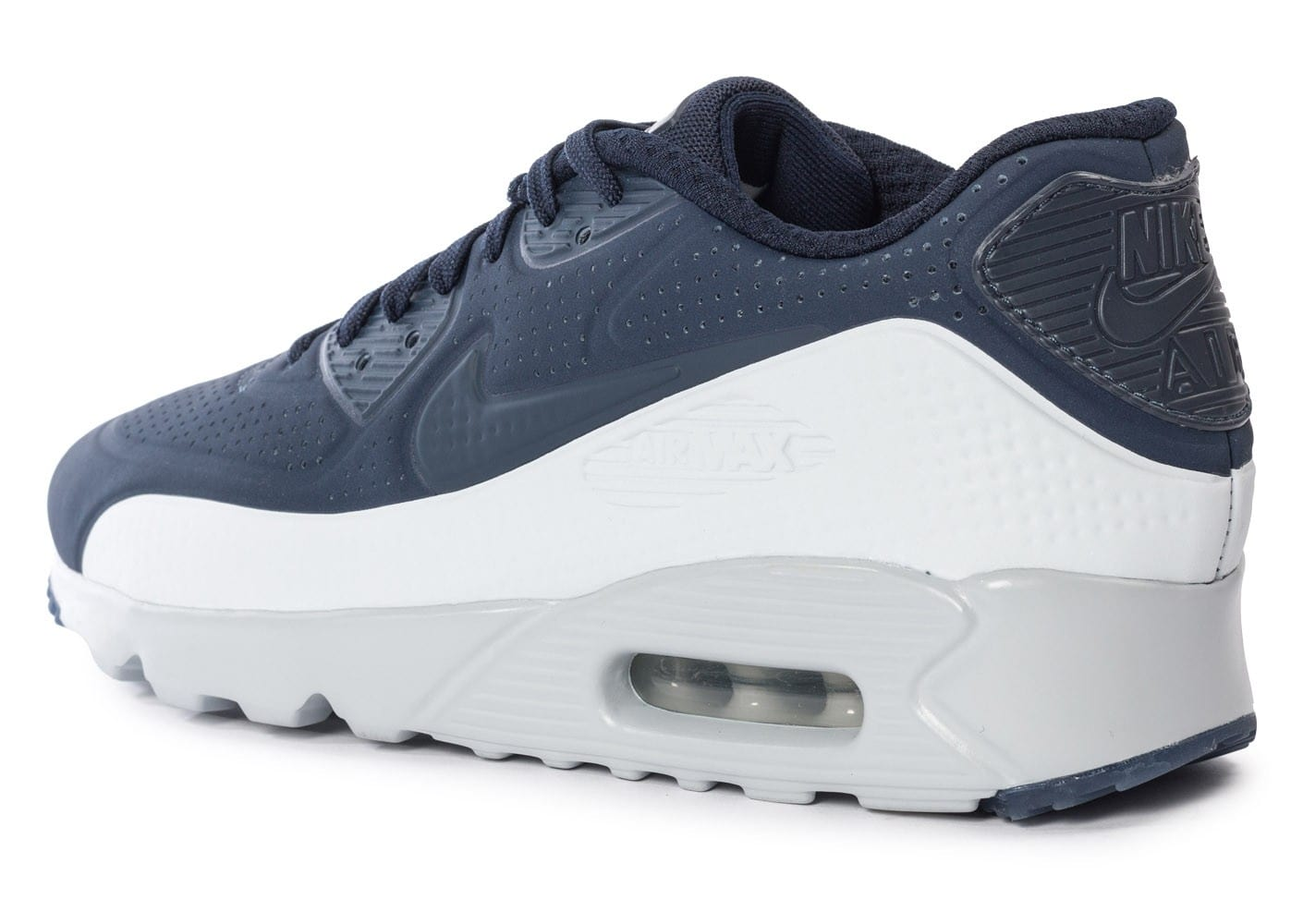 huge selection of 57a02 13f39 ... Chaussures Nike Air Max 90 Ultra Moire Obsidian vue avant ...