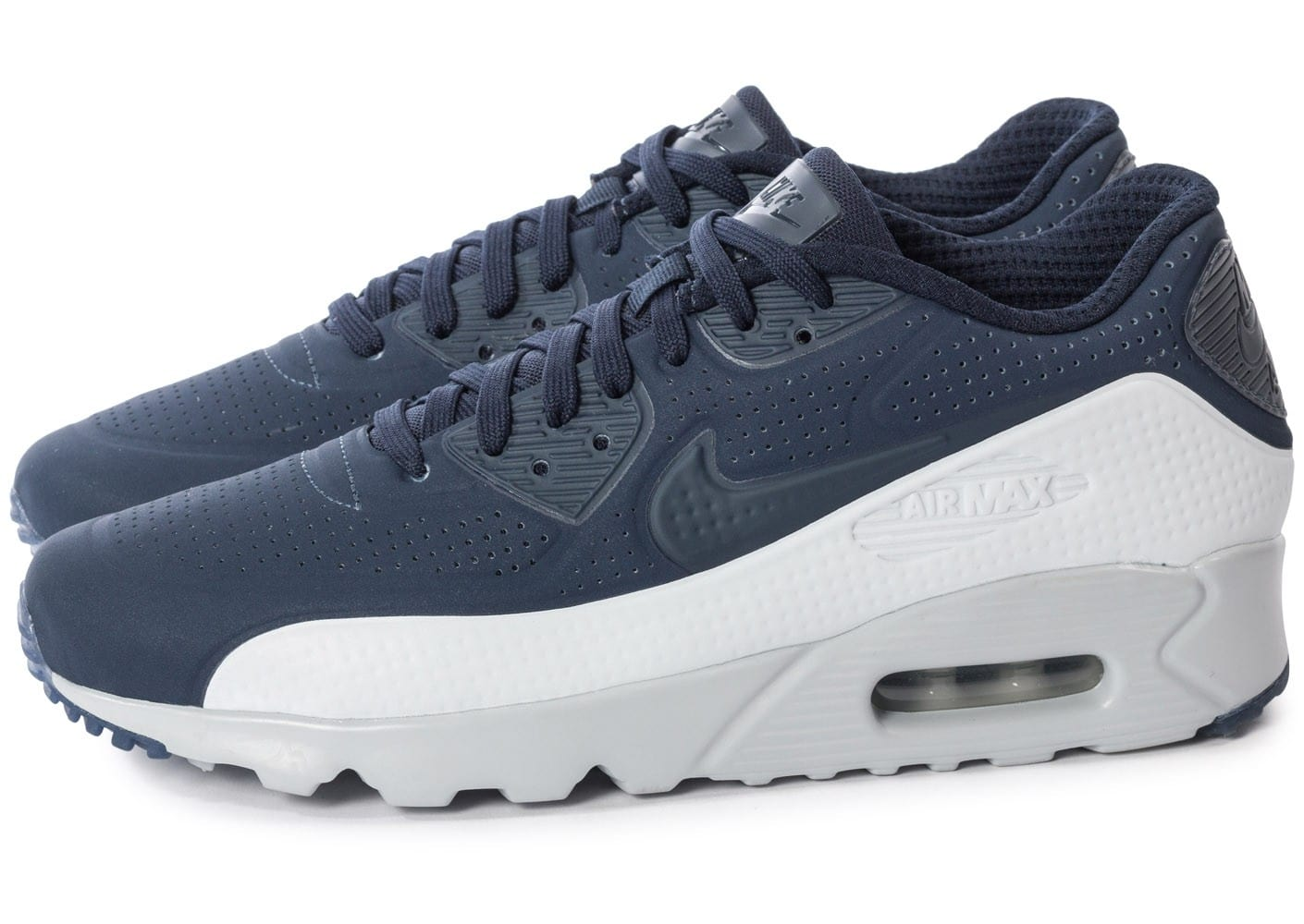 best sneakers 85fb1 ee8a8 Cliquez pour zoomer Chaussures Nike Air Max 90 Ultra Moire Obsidian vue  extérieure ...