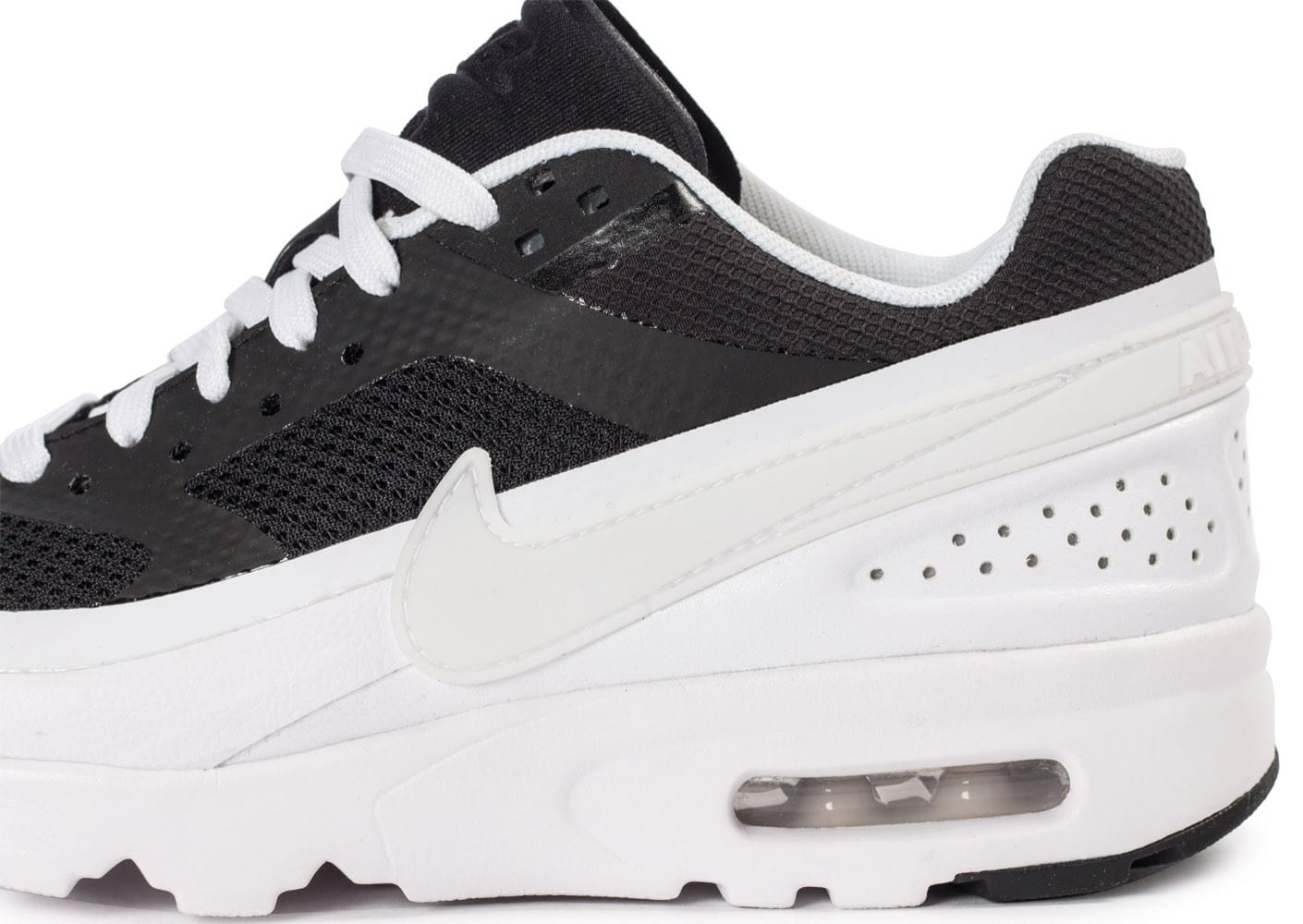 Nike Black Baskets White Femme Chaussures Ultra Max Bw Air W bg76fyY