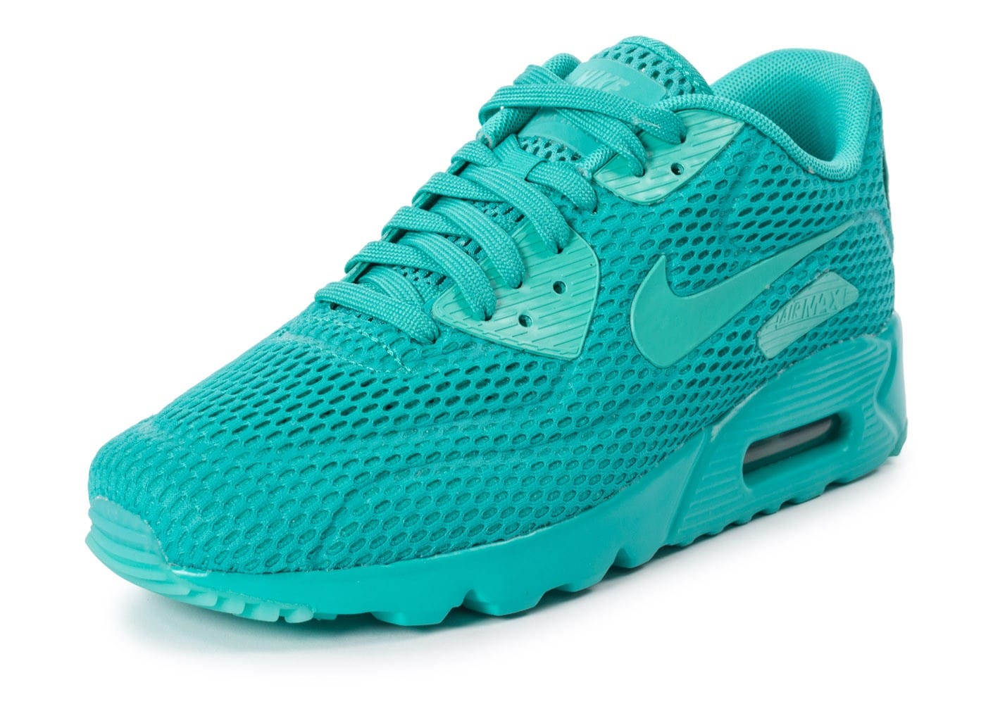 separation shoes 895c2 18839 ... Chaussures Nike Air Max 90 Ultra BR Hyper Jade vue avant ...