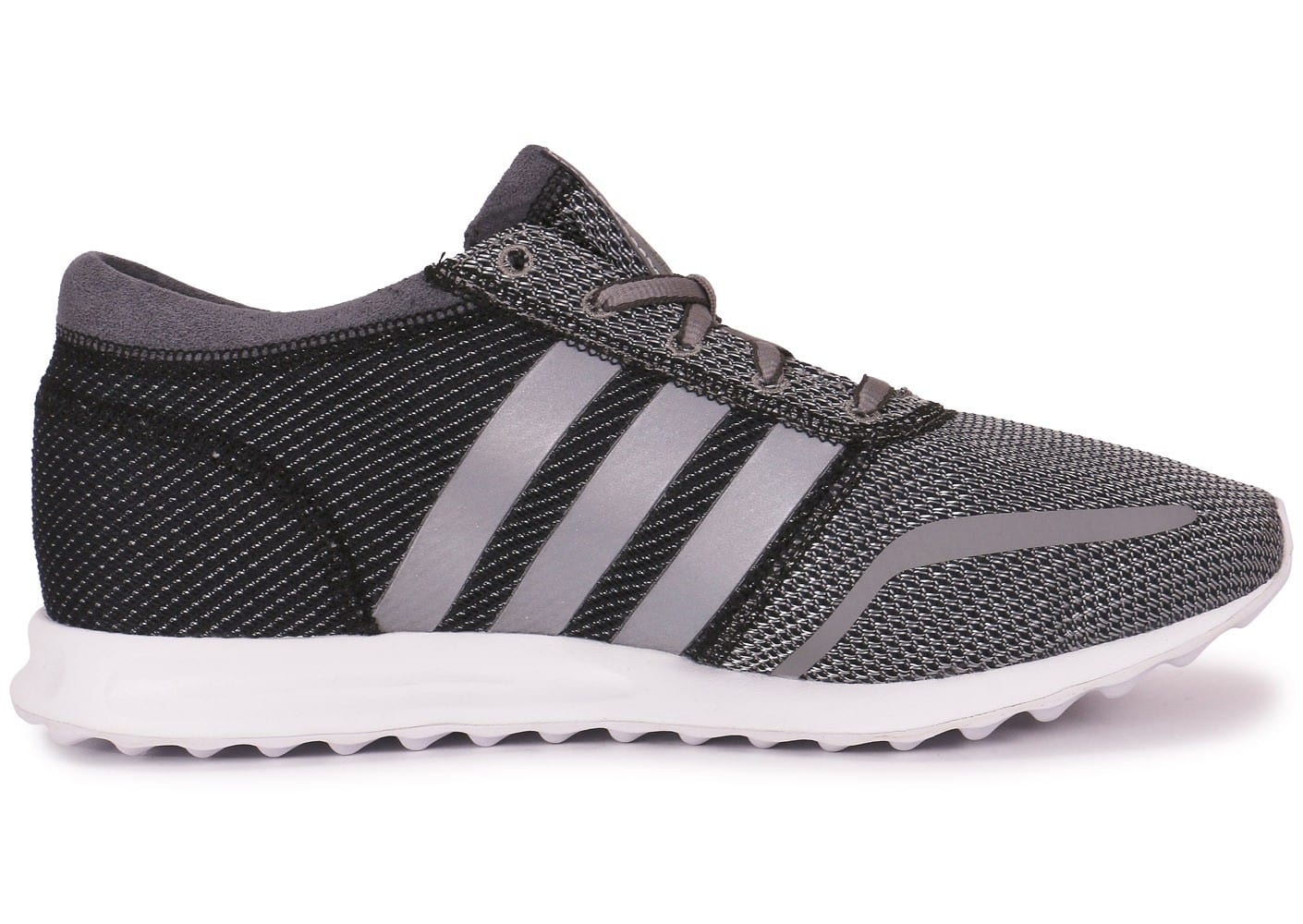 detailed look b1fcd 9809a ... Chaussures adidas Los Angeles gris anthracite vue dessous ...