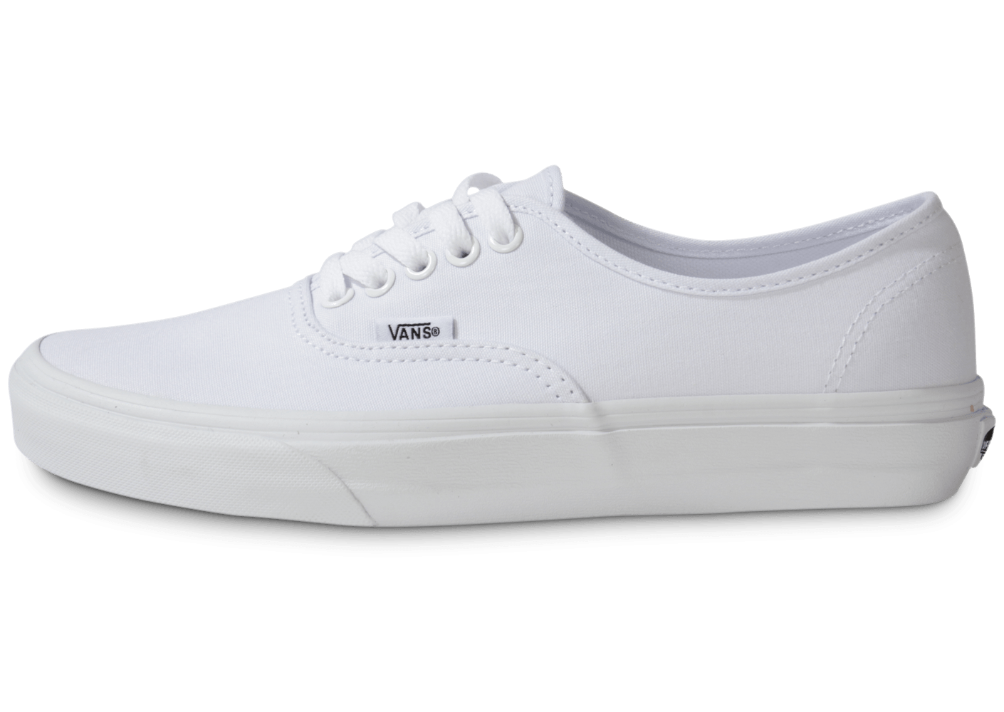 vans authentic blanche chaussures baskets homme chausport. Black Bedroom Furniture Sets. Home Design Ideas
