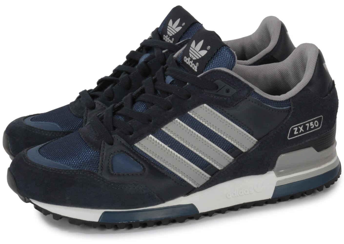 adidas superstar bleu marine, adidas Chaussures Baskets ZX