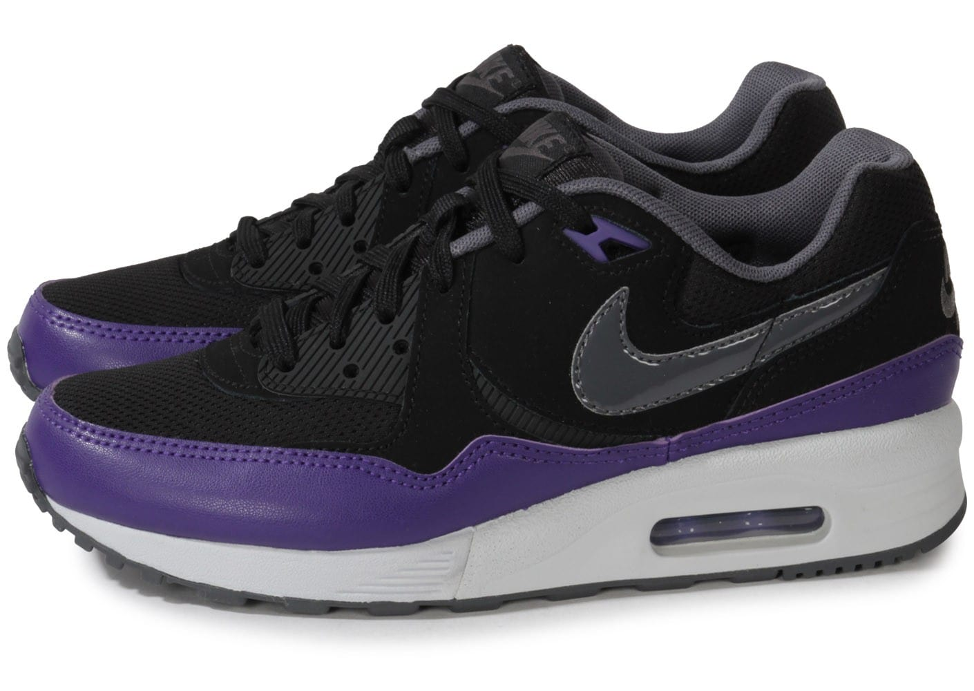 Nike Air Max Light Noir Violet Chaussures Chaussures