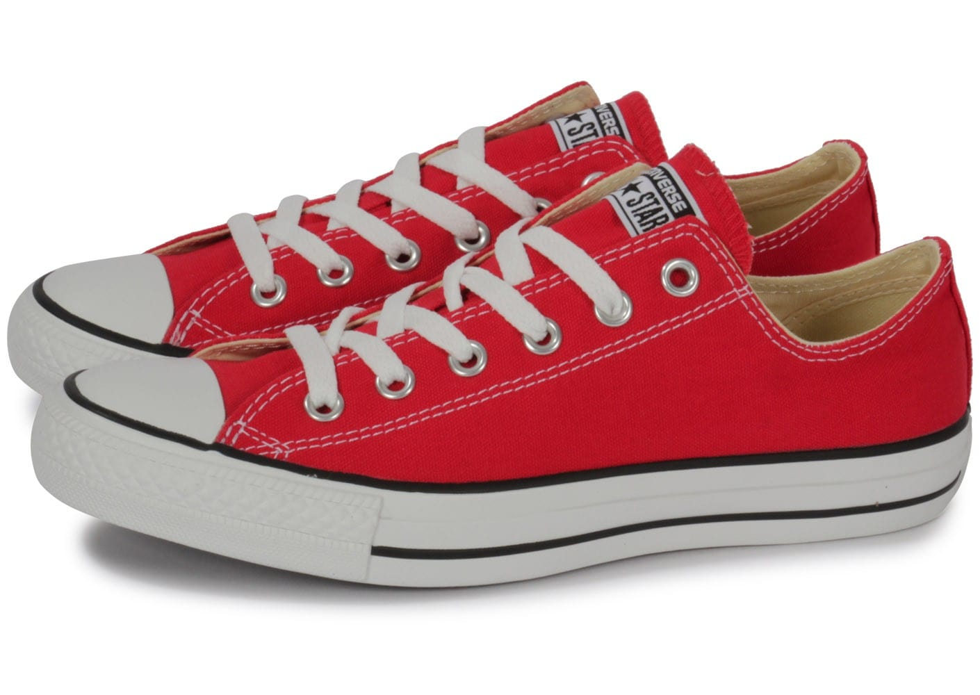 Converse Chuck Taylor All-star Low Rouge - Chaussures ...