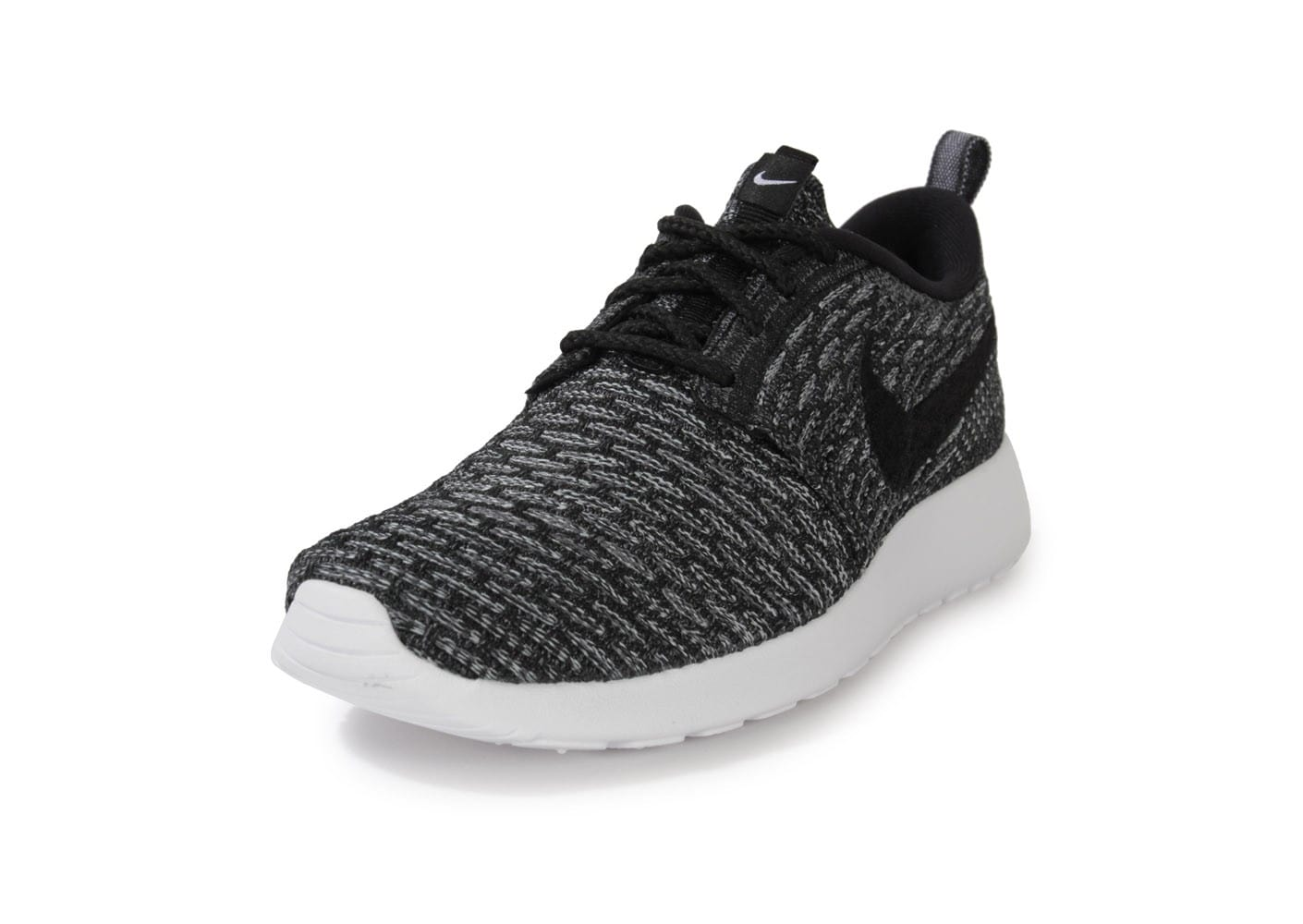 best price nike roshe one flyknit dark gris noir 79370 b70ae
