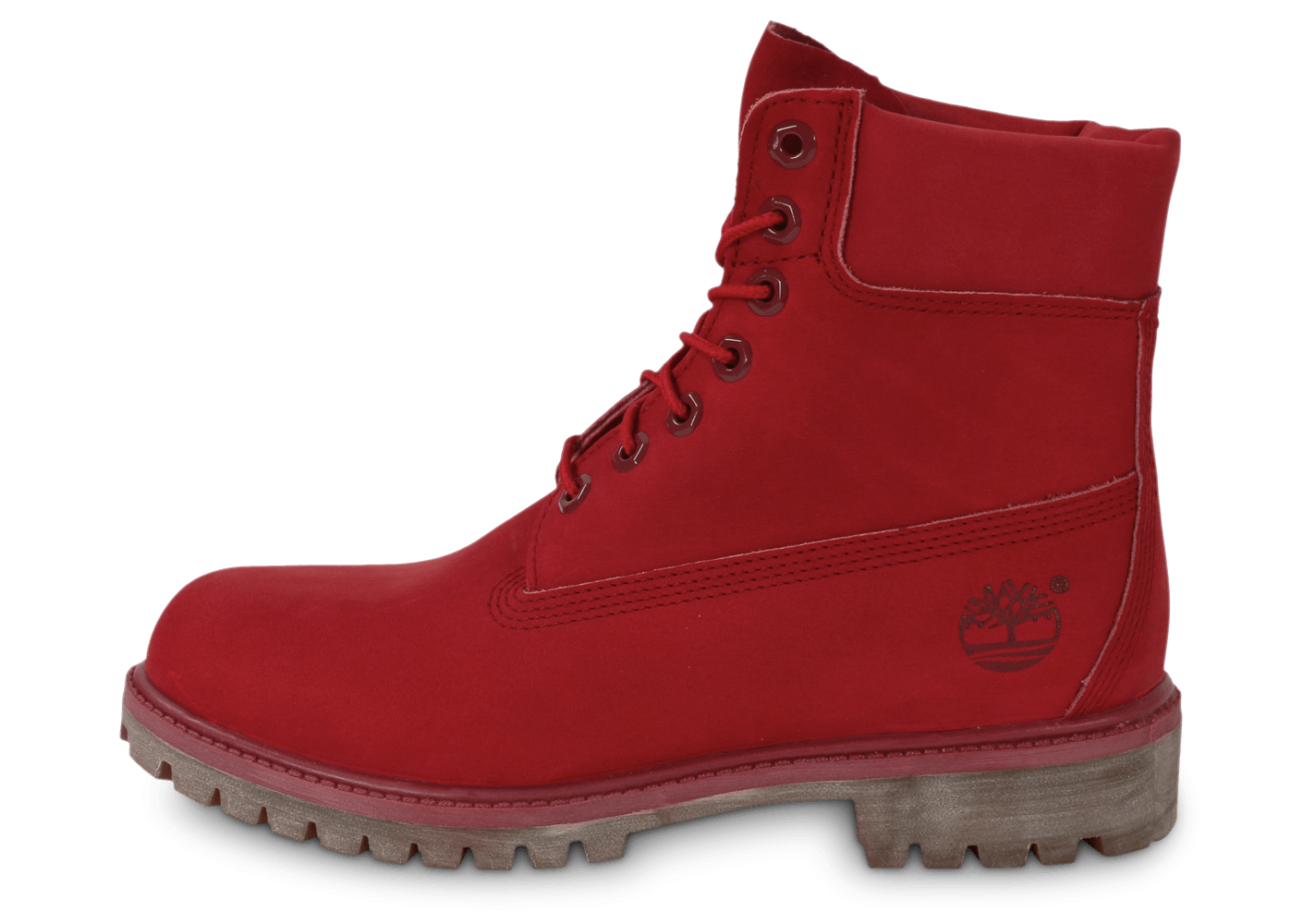 chaussure timberland rouge