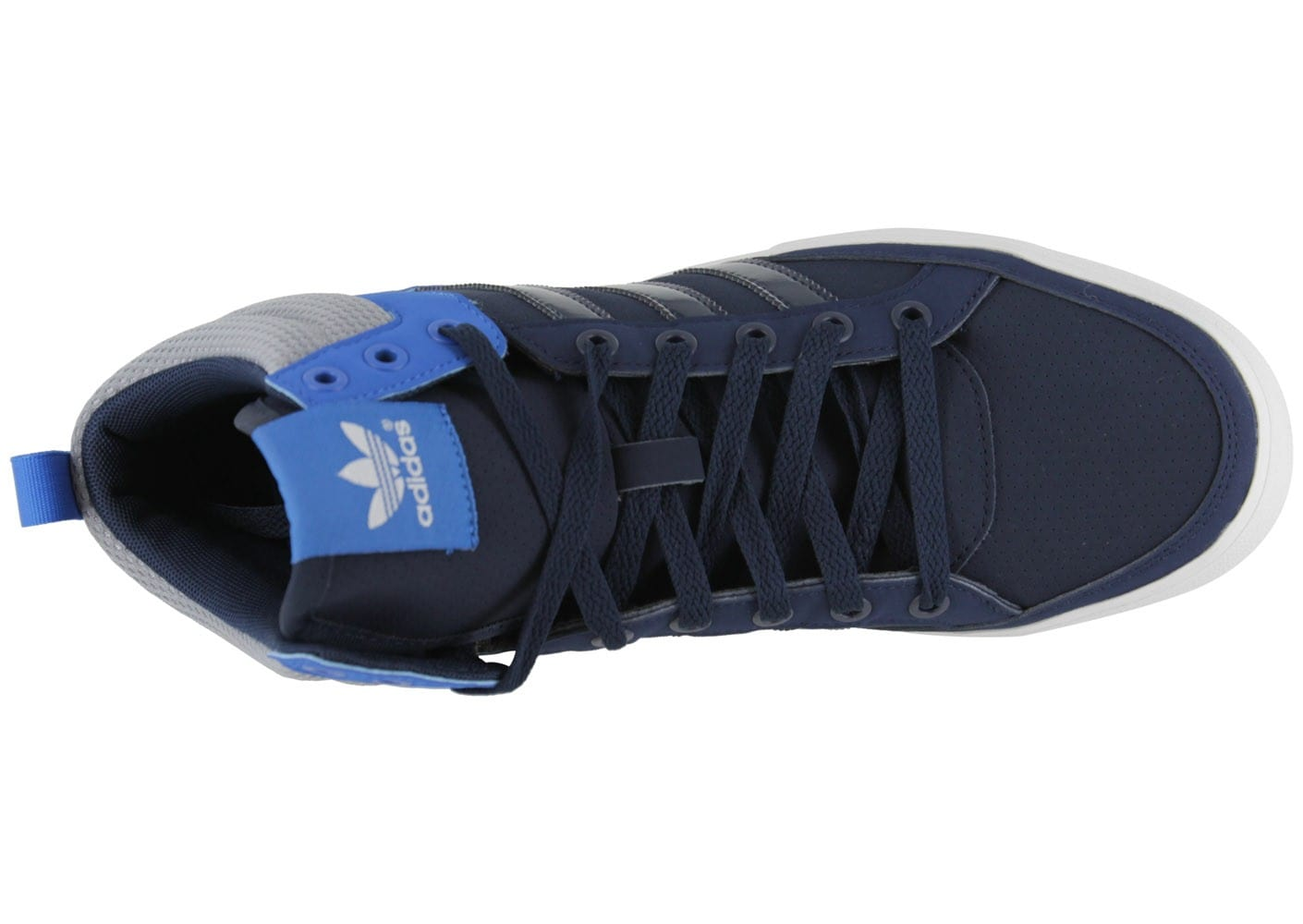 wholesale dealer a069e 6dd72 Adidas Baskets Bleu Homme Court Chausport Top Marine Chaussures PrPwOxBqUp