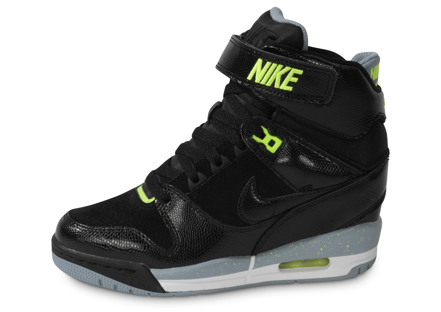 best authentic 12564 a1ed6 Nike Air Revolution Sky Hi Noire - Chaussures Chaussures - Chausport