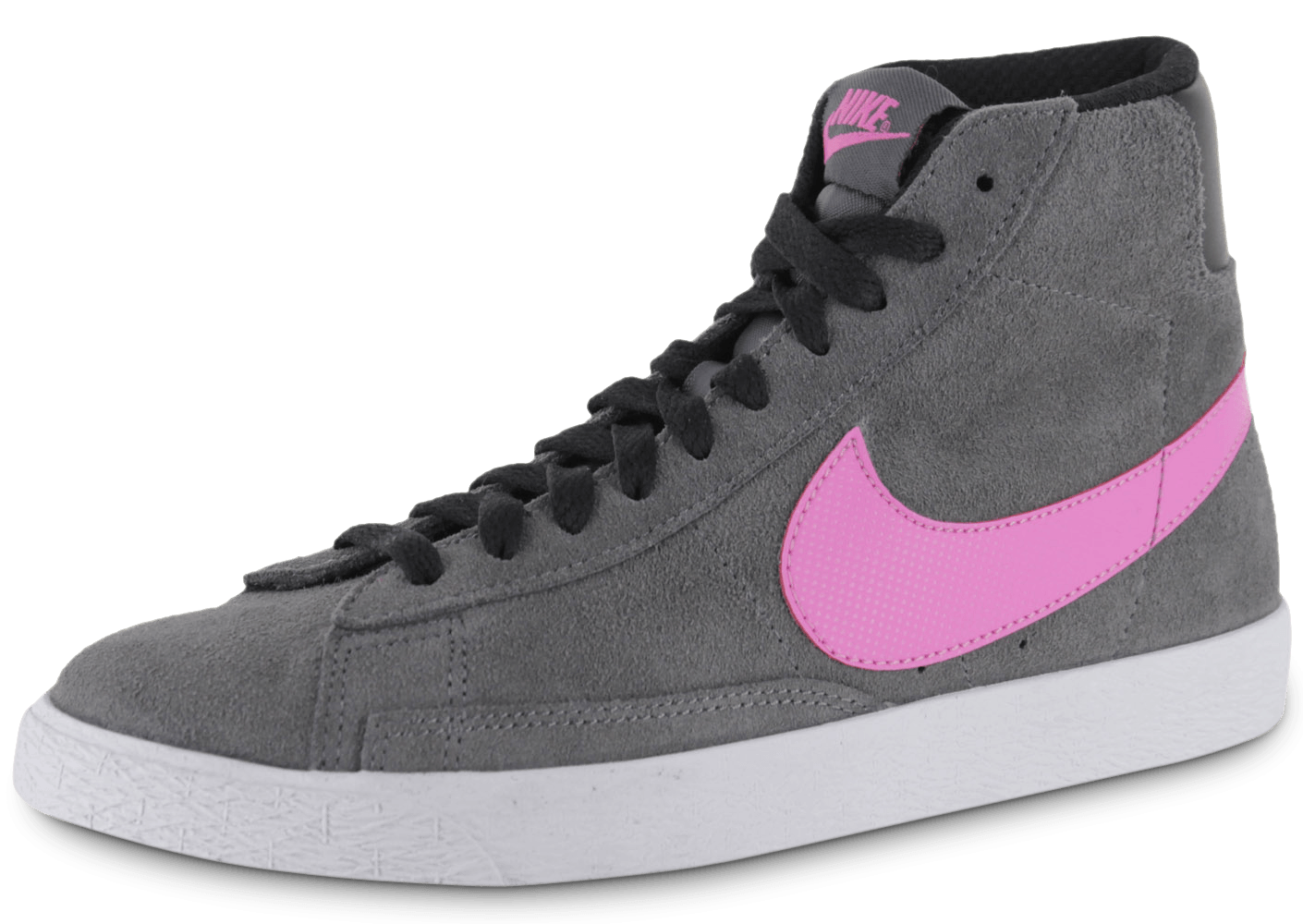 best sneakers af0a9 f59f8 Nike Blazer Junior Grise Et Rose - Chaussures Chaussures - C