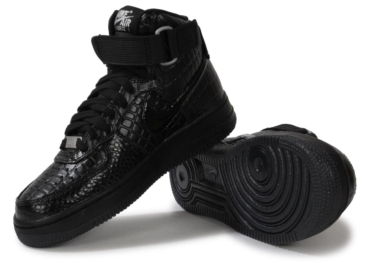 air force 1 noir croco