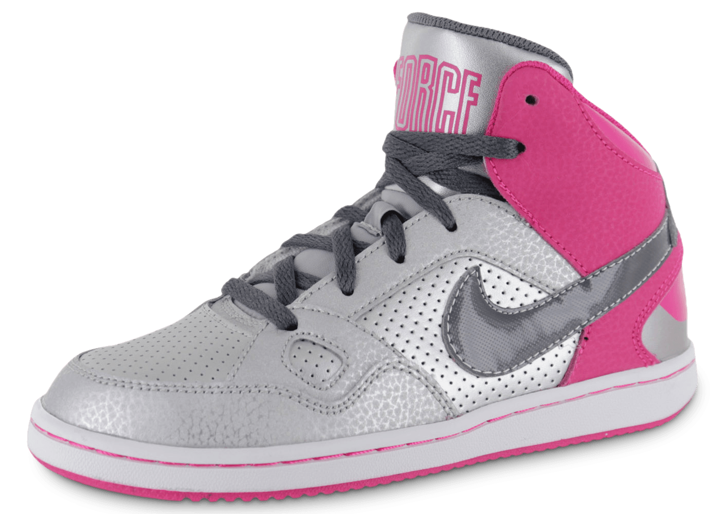 2de434f3f873f Nike Son Of Force Enfant Argent - Chaussures Chaussures - Chausport