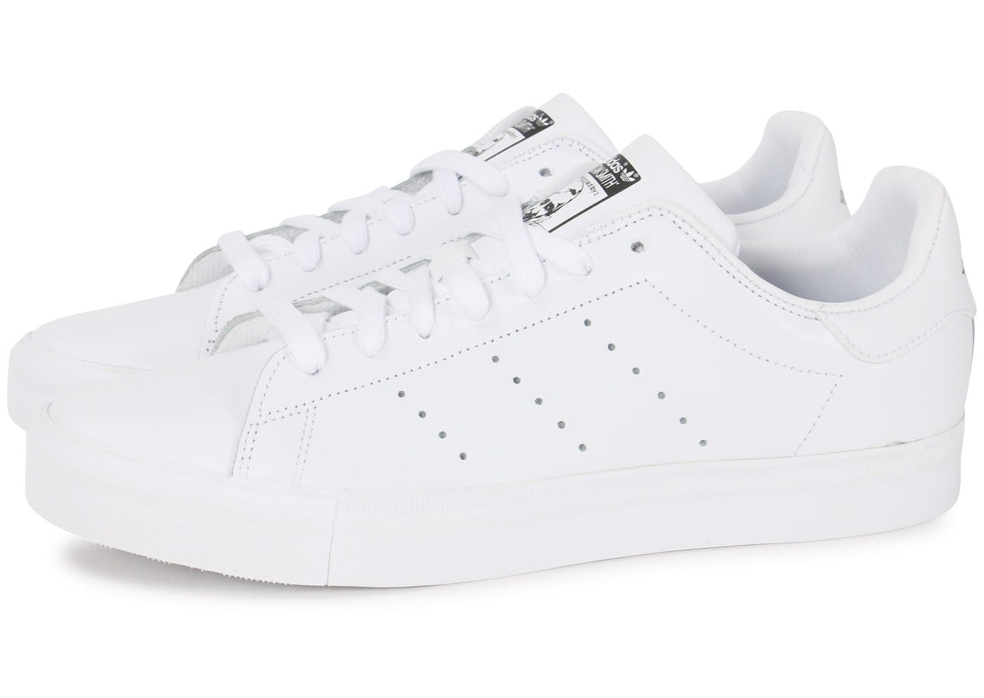 adidas stan smith vulcanis e blanche chaussures baskets homme chausport. Black Bedroom Furniture Sets. Home Design Ideas