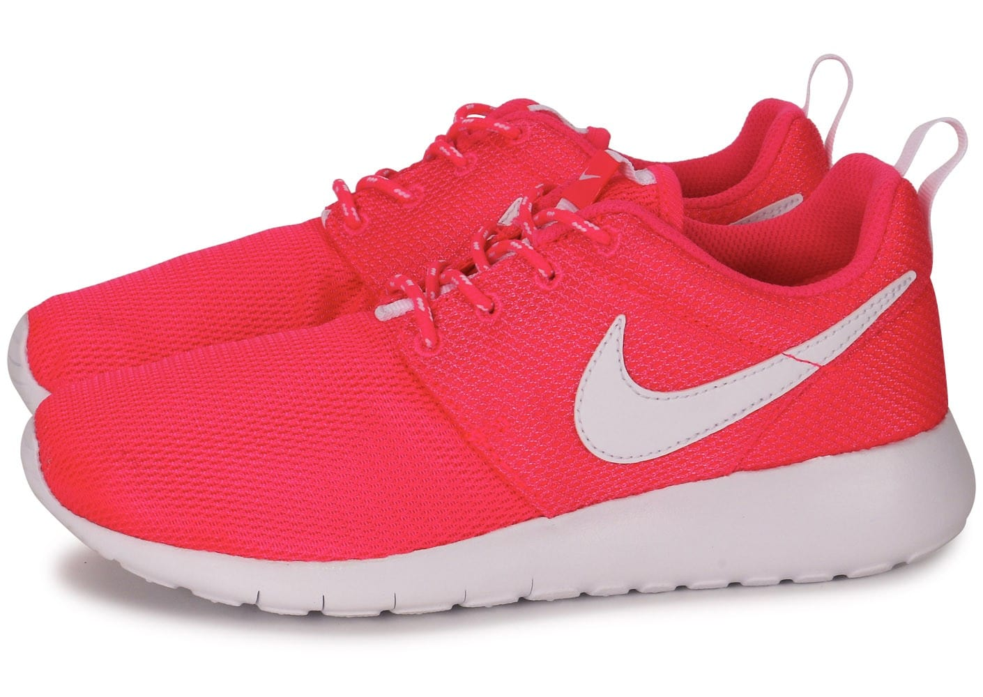 release date: 9df86 fb1b4 ... new zealand cliquez pour zoomer chaussures nike roshe run junior hyper  pink vue extérieure 11bf2 50bba