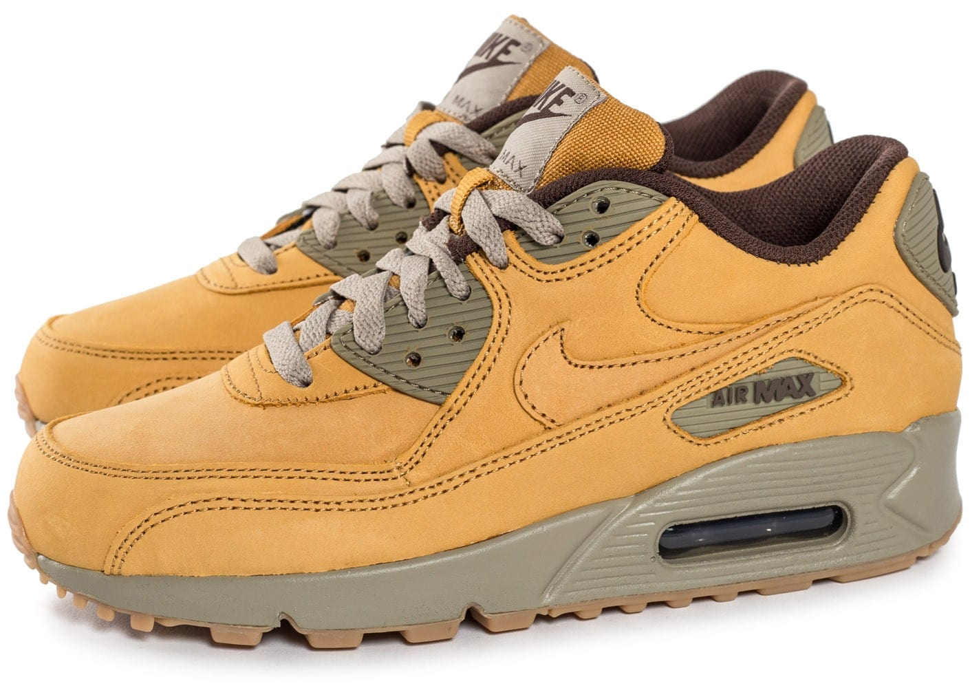 Chaussures Nike Premium Winter Air Wheat Femme Max 90 Baskets 1cFlKJ