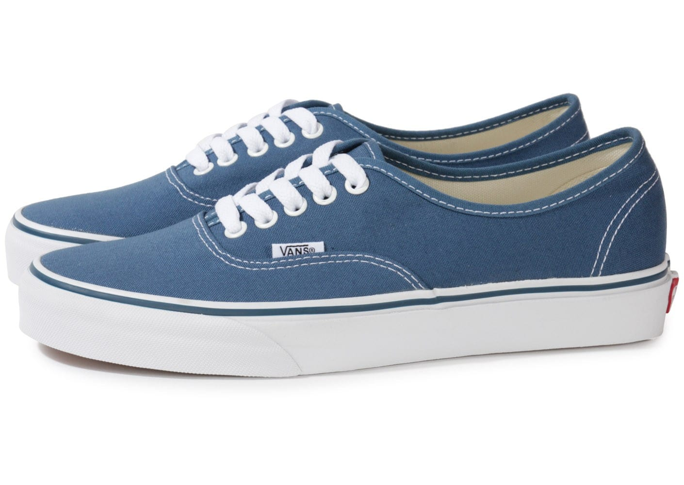Vans Authentic Bleu - Chaussures Baskets homme - Chausport