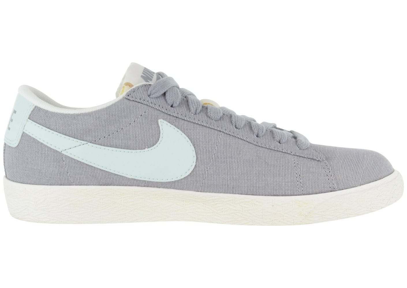 beauty good looking amazing selection Nike Blazer Low Toile Grise - Chaussures Chaussures - Chausport
