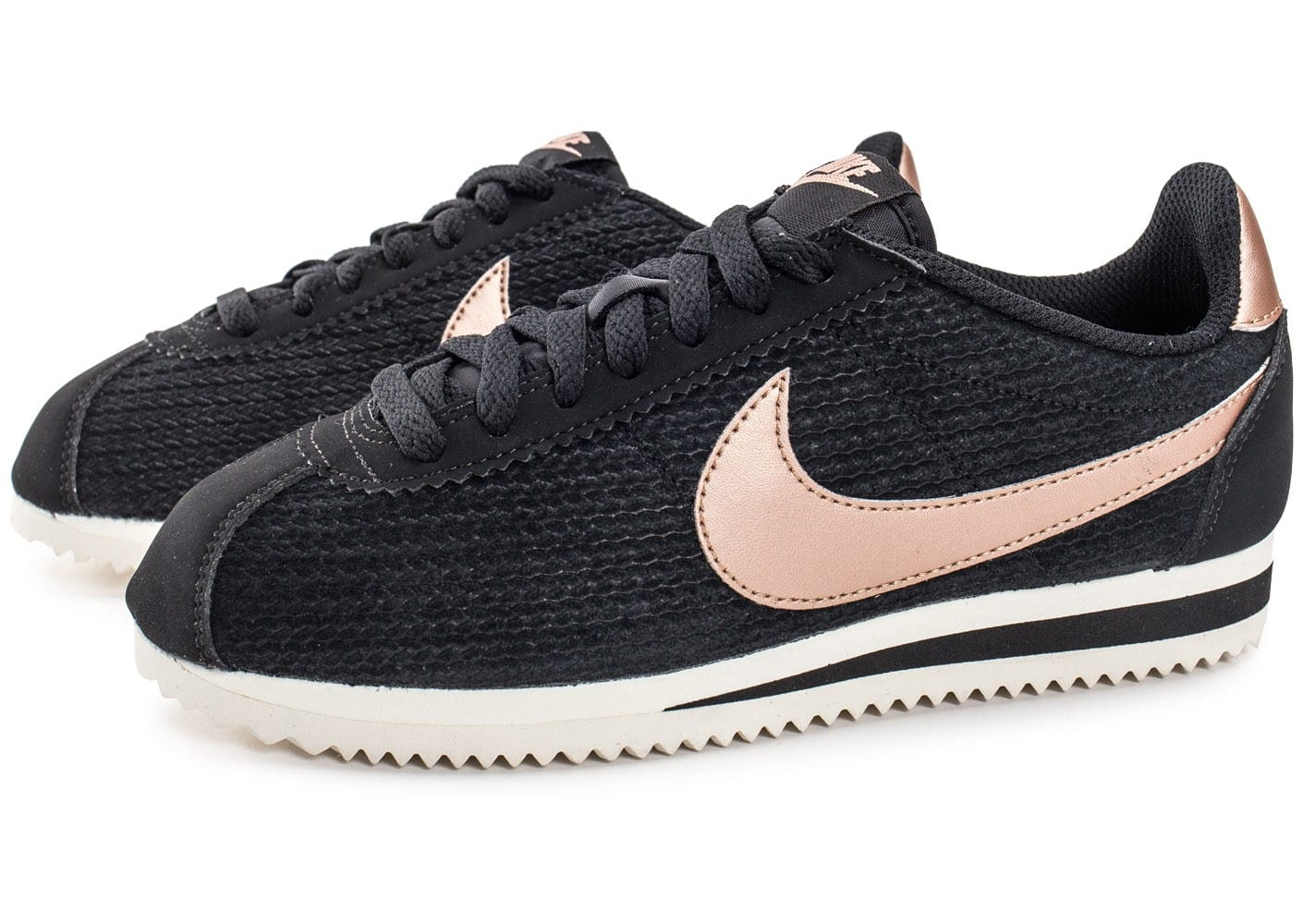Nike Cortez Leather SE bronze Chaussures Baskets femme