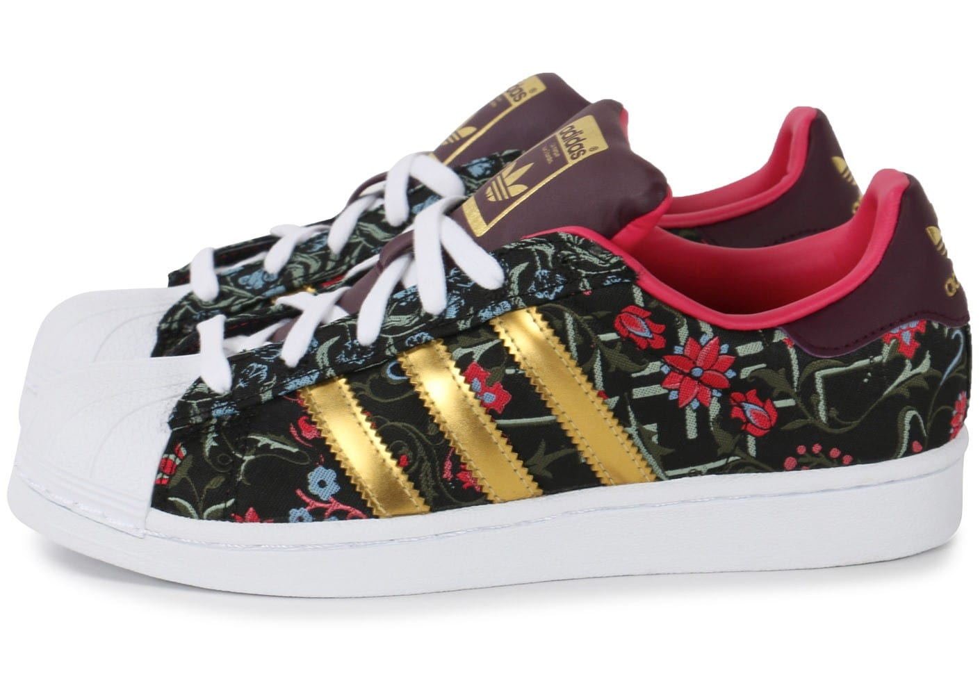 sale usa online cost charm new list adidas Superstar Jacquard Floral - Chaussures adidas - Chausport