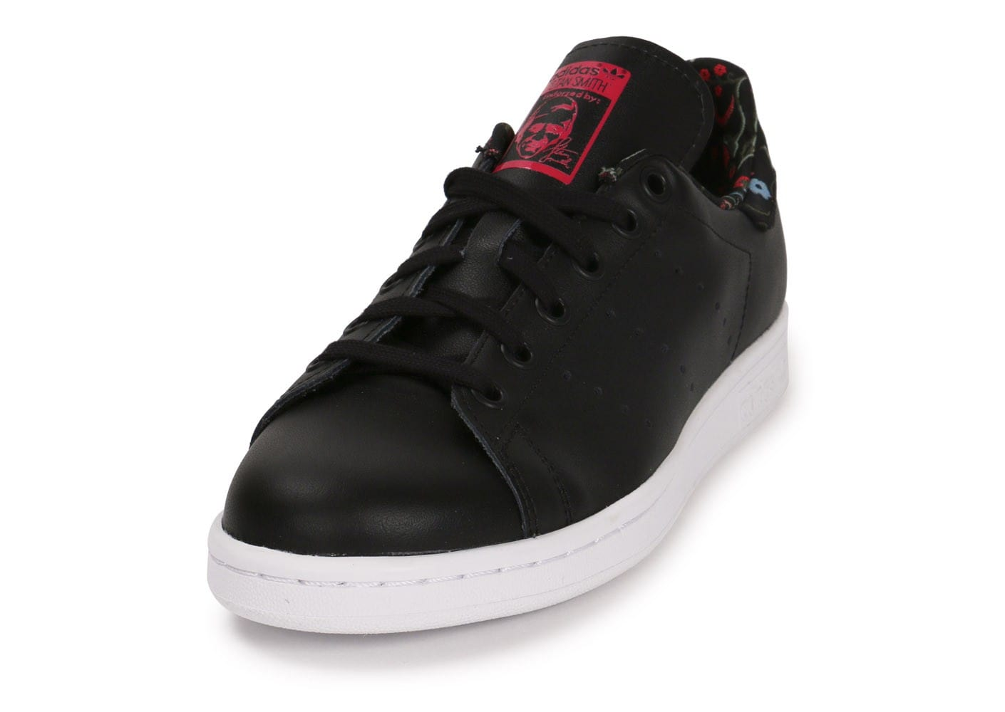 adidas Stan Smith Flowers noire Chaussures adidas Chausport