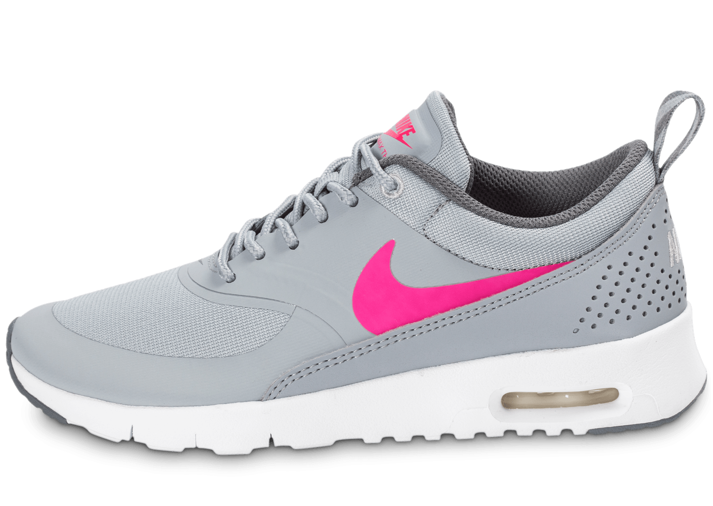 Nike Air Max Thea Junior grise et rose