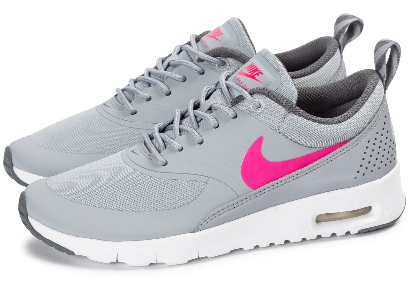 nike air max thea grise rose
