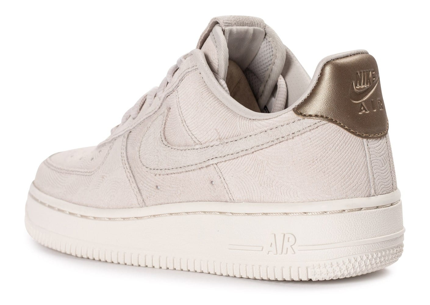 Nike Air Force 1 Premium Suede Gamma grey Chaussures