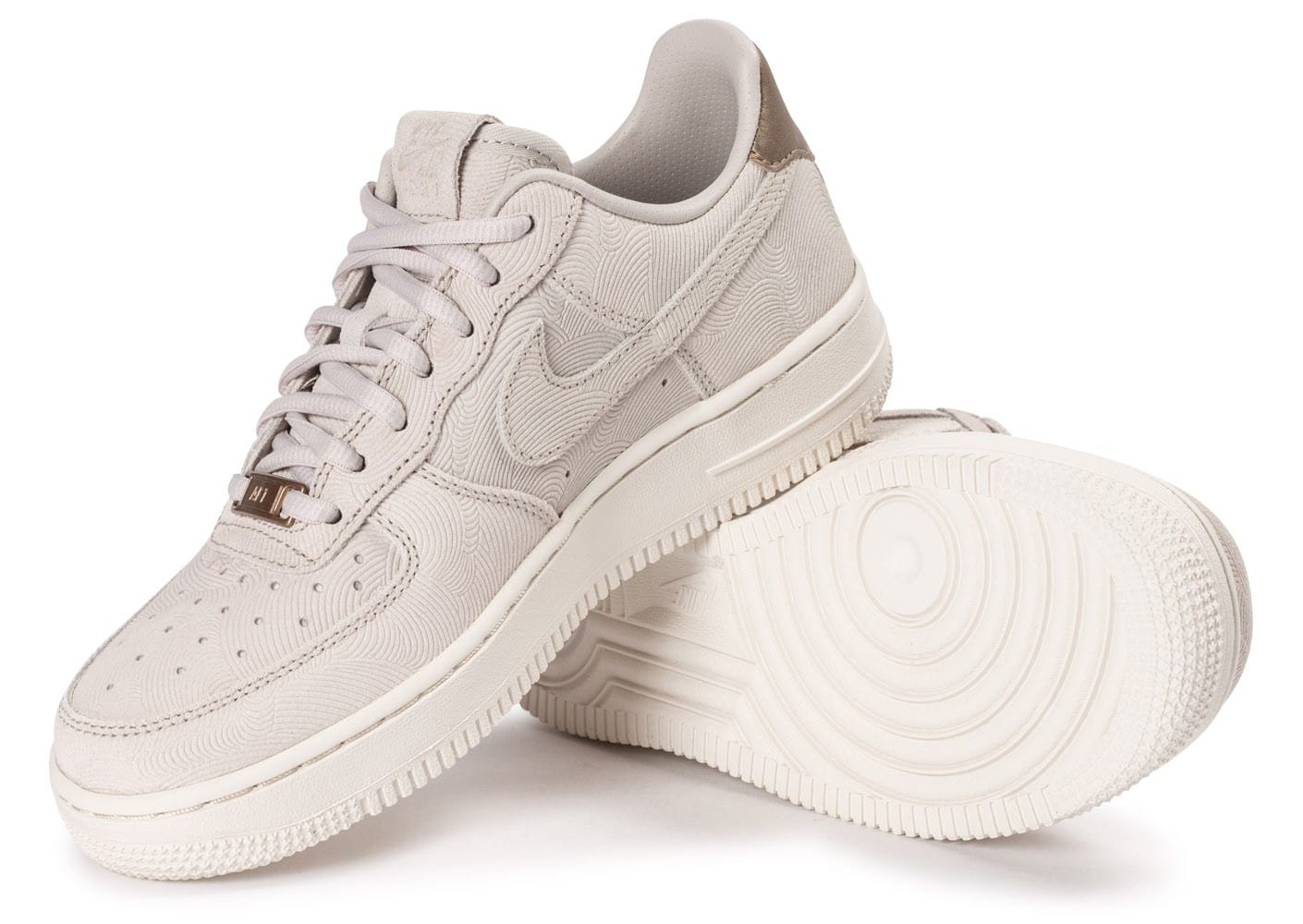 release date: great quality fast delivery Nike Air Force 1 Premium Suede Gamma grey - Chaussures ...