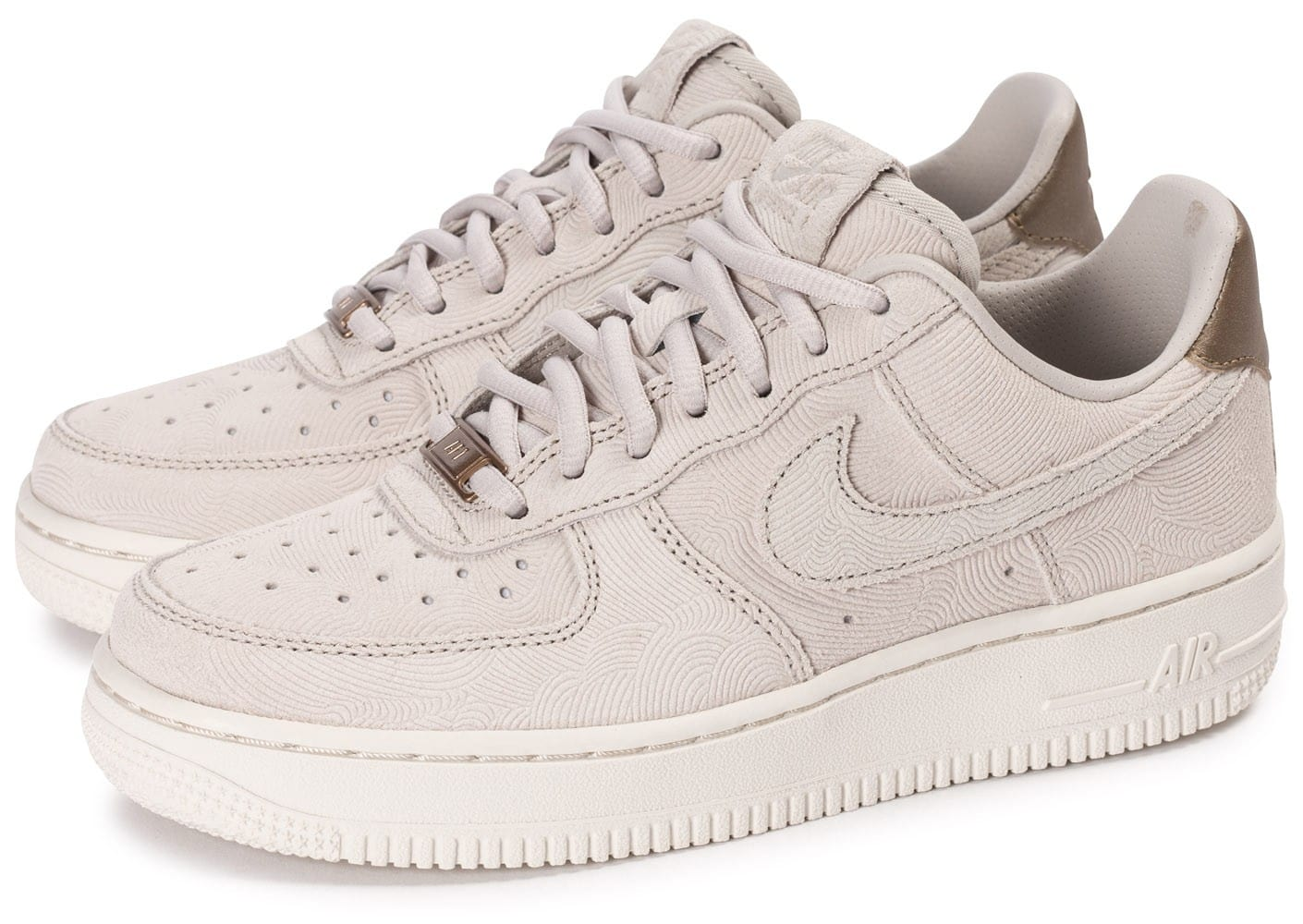 buy online a16a1 223ab Nike AIR FORCE 1 07 Gris - Chaussures Basket Homme GH8HUA1Z -  destrainspourtous.fr