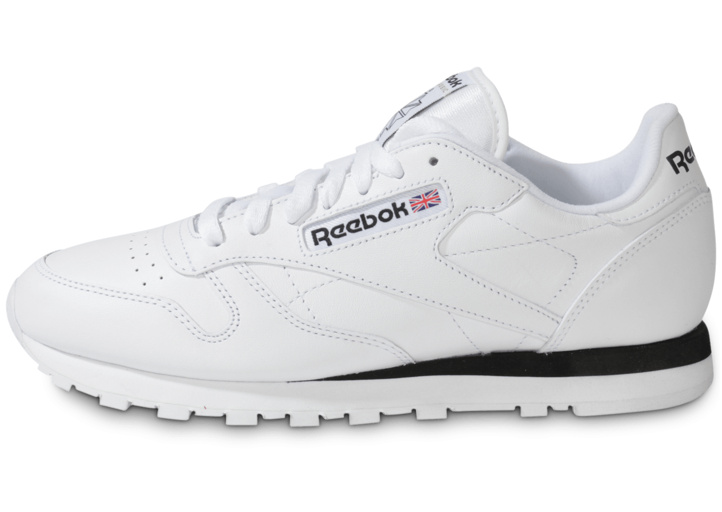 really cheap best prices sneakers for cheap Reebok Classic Leather Blanche - Chaussures Baskets homme - Chausport