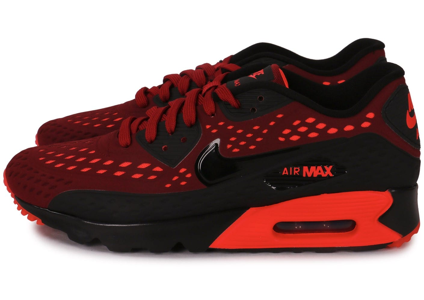 Nike Air Max 90 ultra Breathe rouge et noir Chaussures