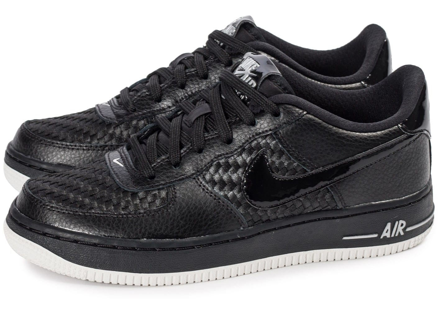 pas mal faa74 3544c Nike Air Force 1 LV8 Low Junior noire - Chaussures Baskets ...