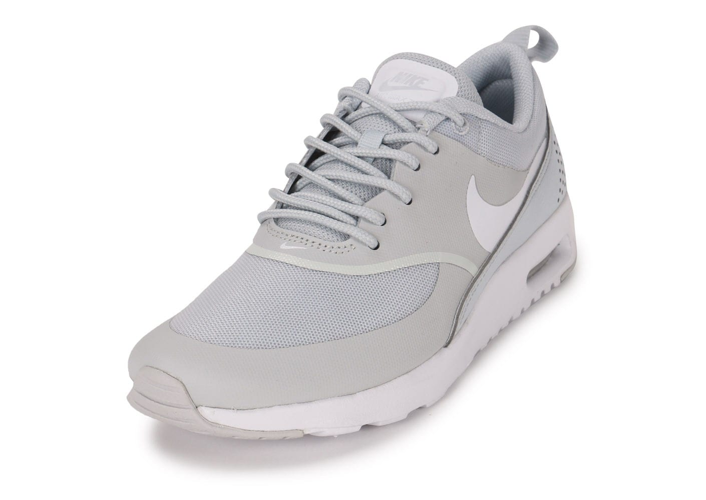 buy popular cb71f 7beed ... Chaussures Nike Air Max Thea grise vue avant ...