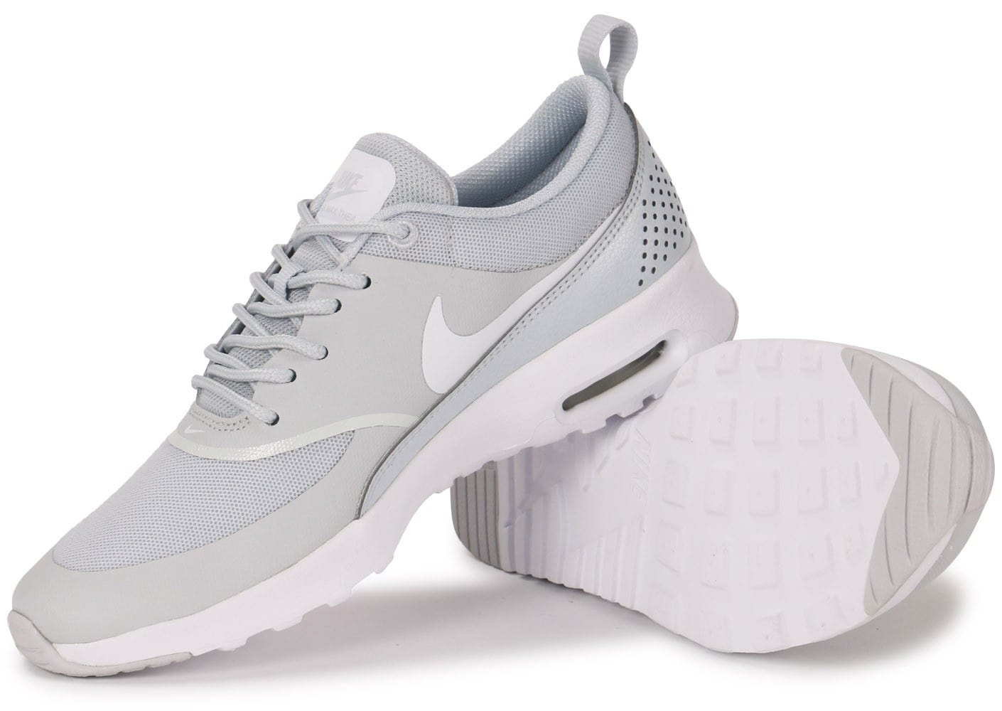 on sale 717bf 80c96 ... Chaussures Nike Air Max Thea grise vue intérieure ...