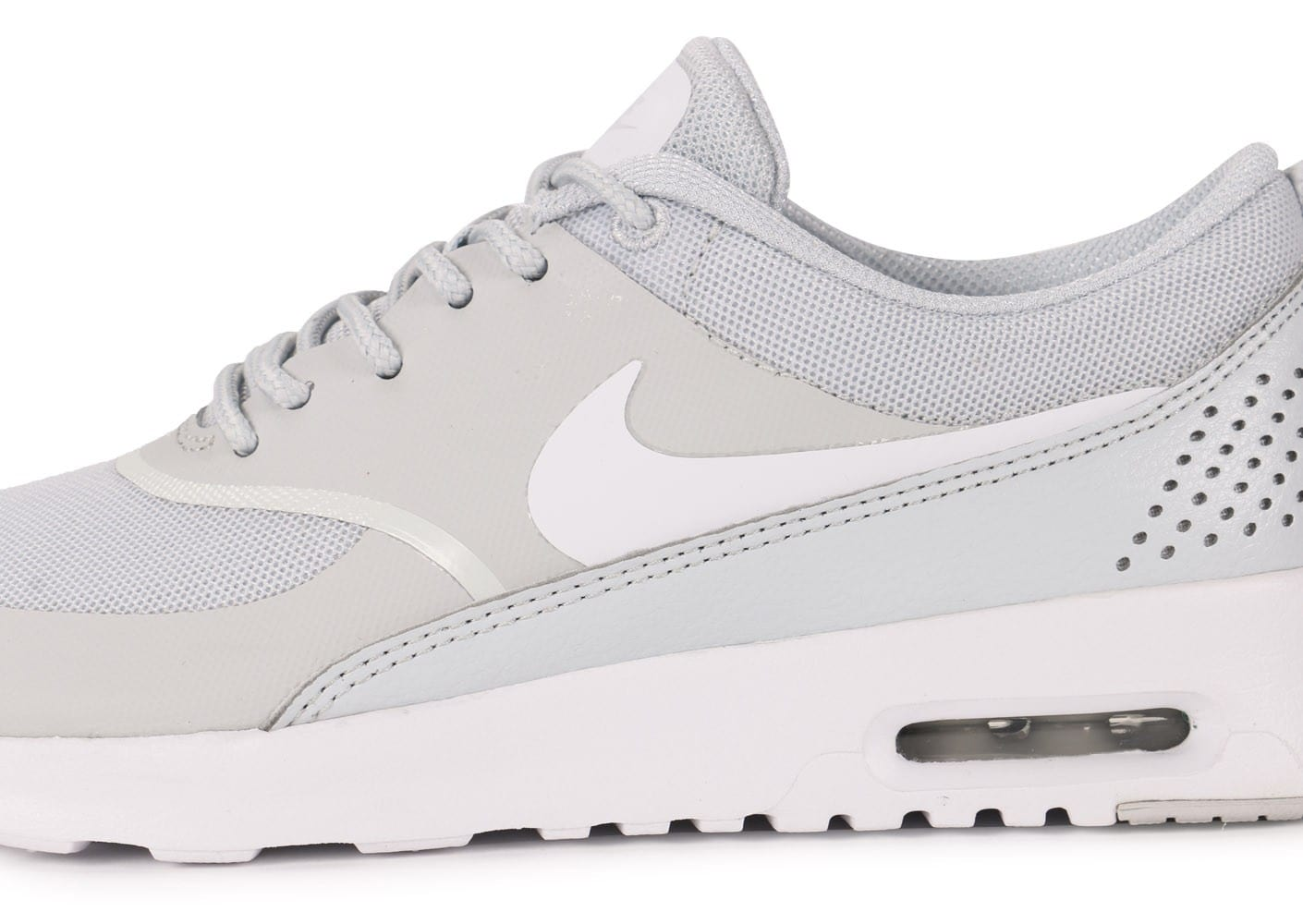 save off e5e76 27271 ... Chaussures Nike Air Max Thea grise vue dessus