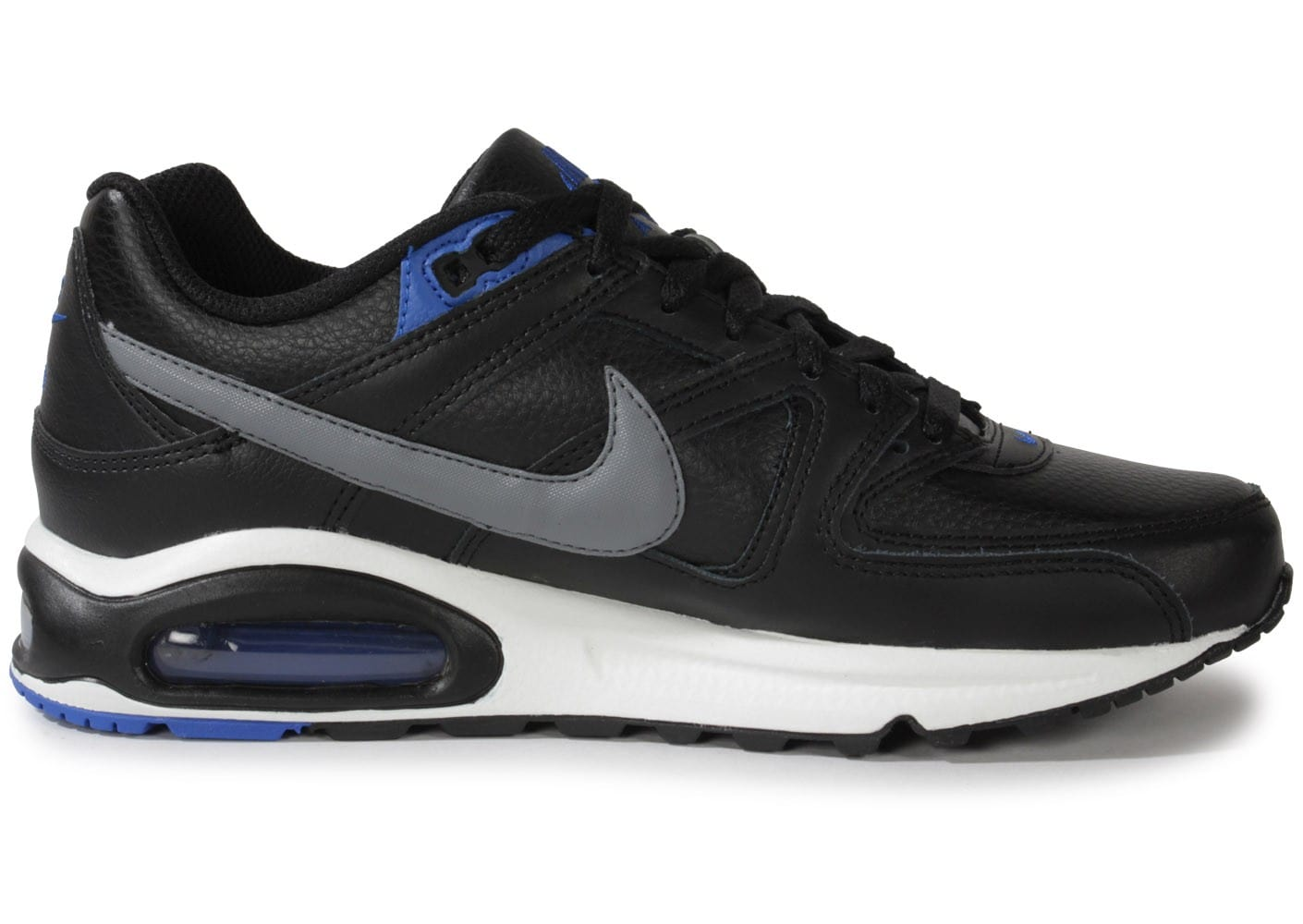 nike air max command cuir noire chaussures baskets homme. Black Bedroom Furniture Sets. Home Design Ideas