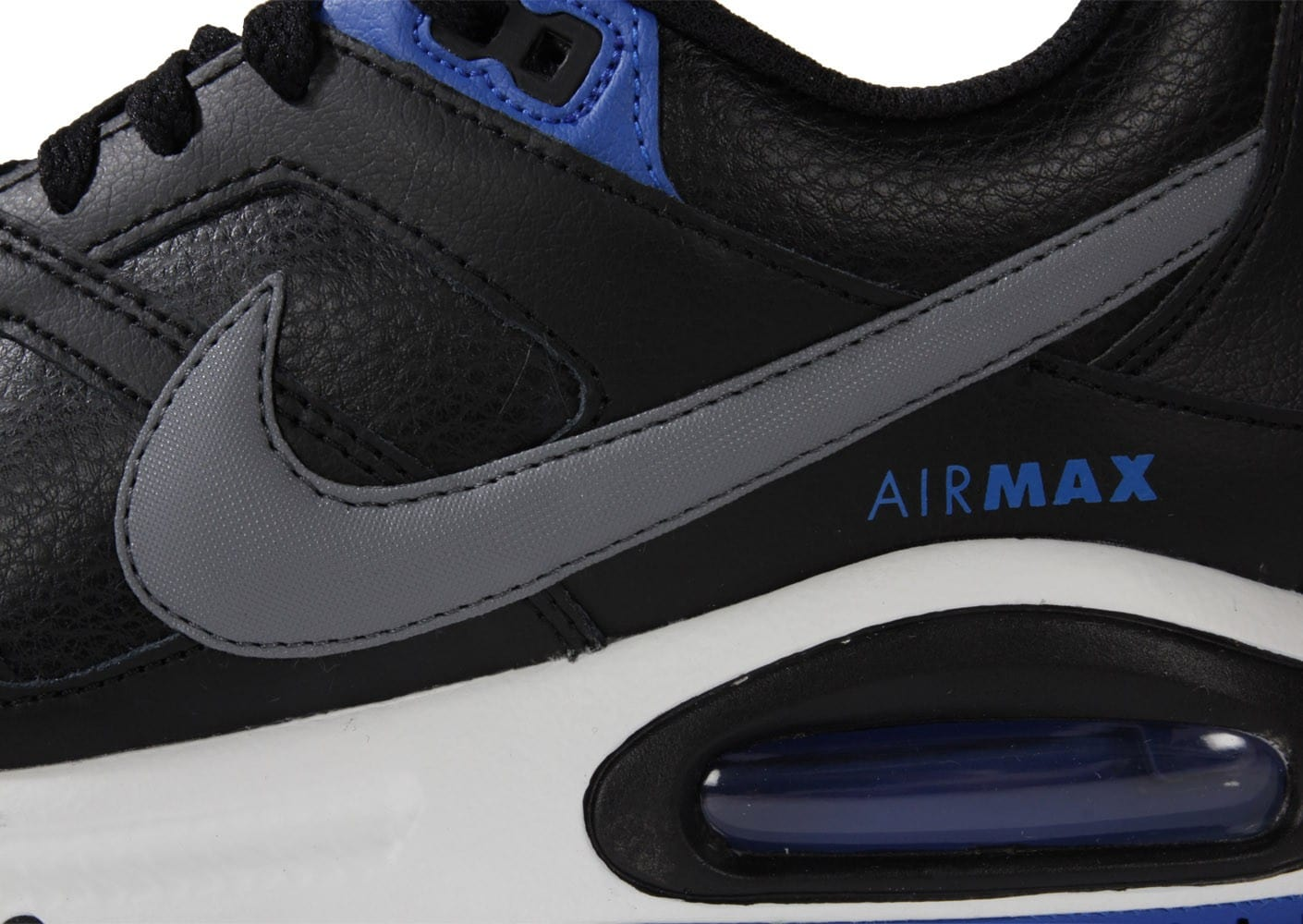 grossiste 0e2d7 442f1 Nike Air Max Command Cuir Noire - Chaussures Baskets homme ...