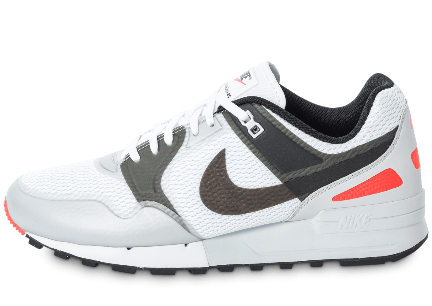 on sale 01463 00f9d Nike Air Pegasus 89 NS Blanche et Grise - Chaussures Baskets homme -  Chausport