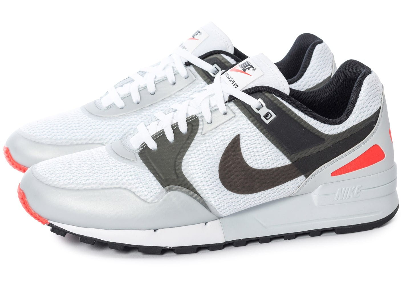Chaussures Nike Air Pegasus blanches homme