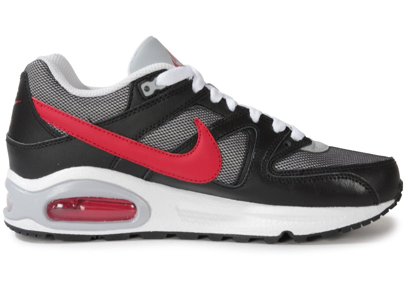 Nike Air Max Command Junior Anthracite Et Rouge Chaussures
