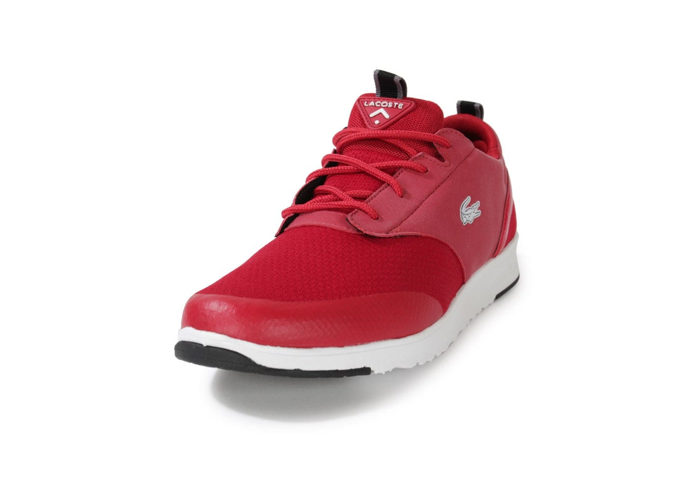 577eb1e5ac Lacoste Light 2.0 Rouge - Chaussures Baskets homme - Chausport