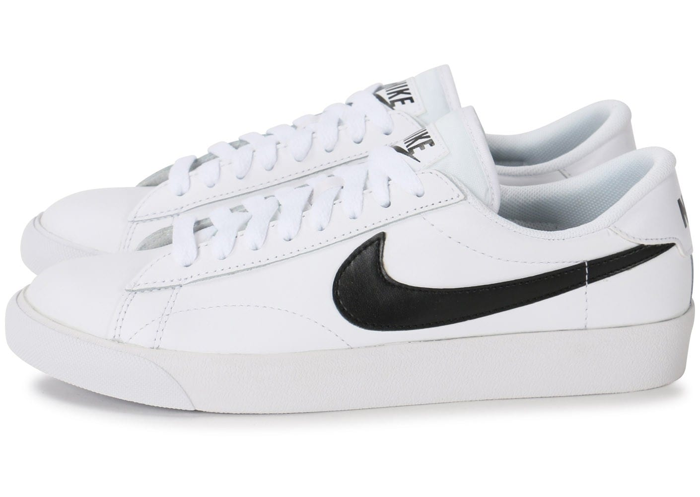 Nike Nike Nike Tennis Classic Blanche Et Noire Chaussures Chaussures Chausport 4320b2