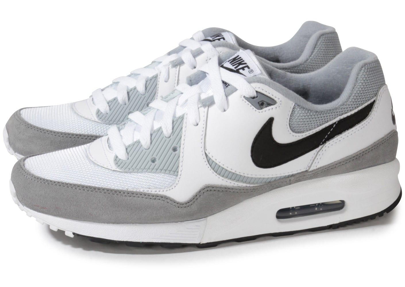 nike air max light essential blanche chaussures baskets homme chausport. Black Bedroom Furniture Sets. Home Design Ideas